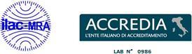 ACCREDIA Certificate - UNI CEI EN ISO/IEC 17025:2005